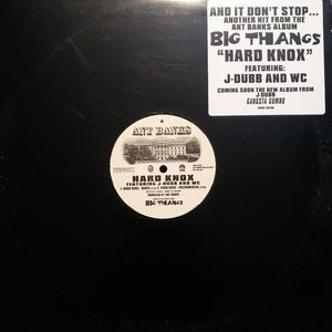 "Ant Banks Other - Ant Banks - Hard Knox | 12"" Vinyl Single 1997"